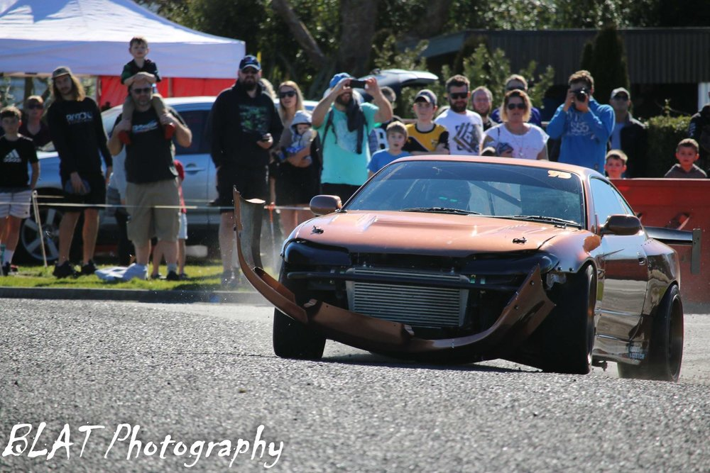 Karl giddy - south taranaki car club - westend hire stratford street sprints