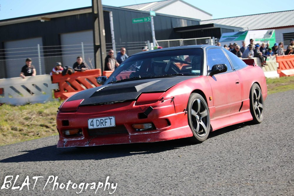 Blake sinclair - south taranaki car club - westend hire straford street sprints 2018