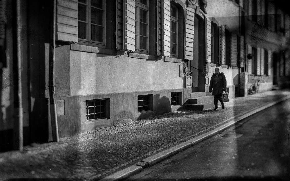 simple street scene