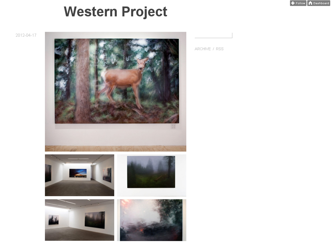 Western Project on tumblr