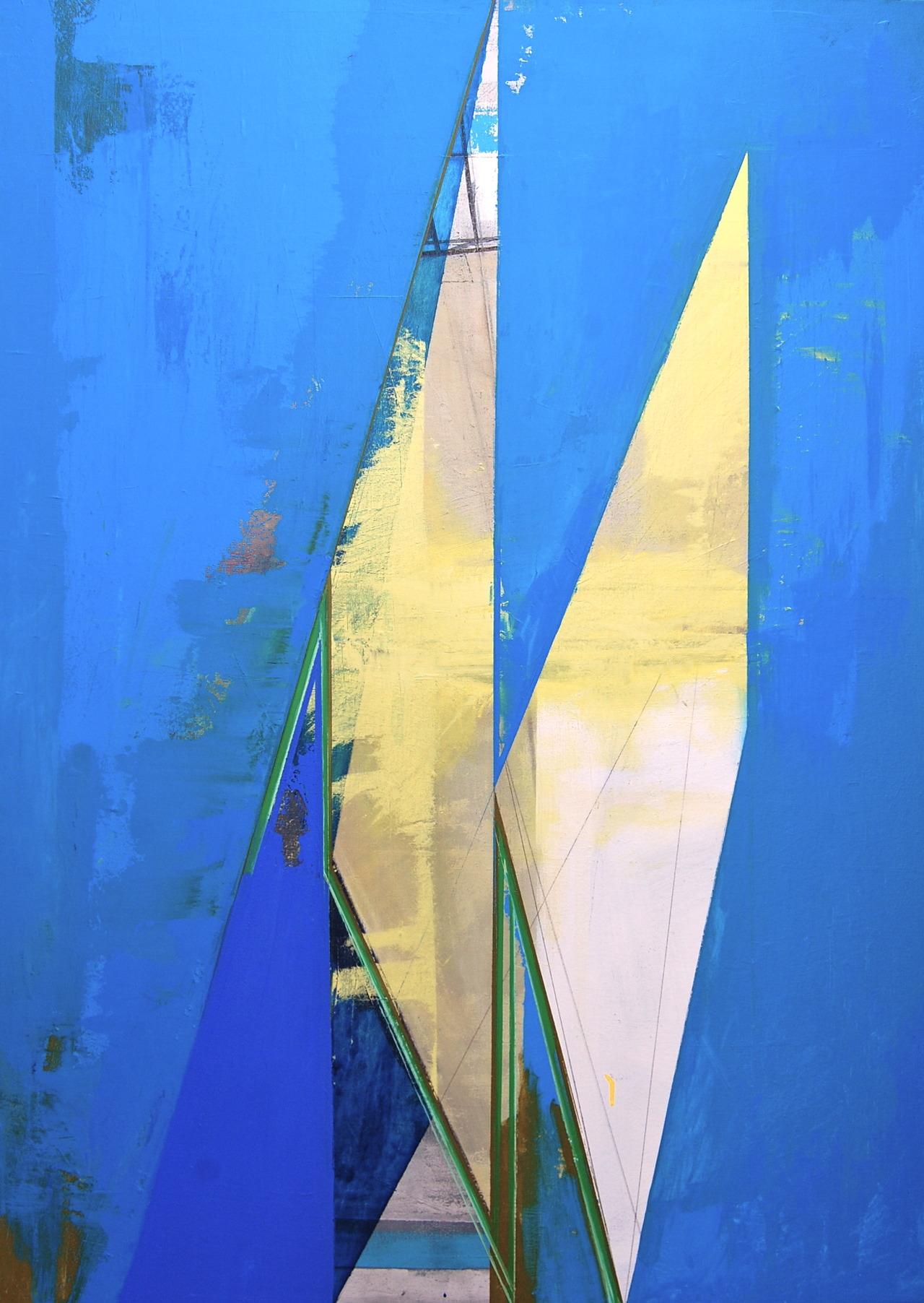 Ultramarine Pattern 53 x 39 2012