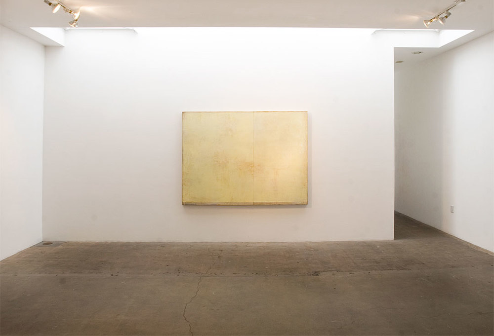 Daniel Brice, OX 32, 2013, oil on burlap over panel, 60 x 80 inches