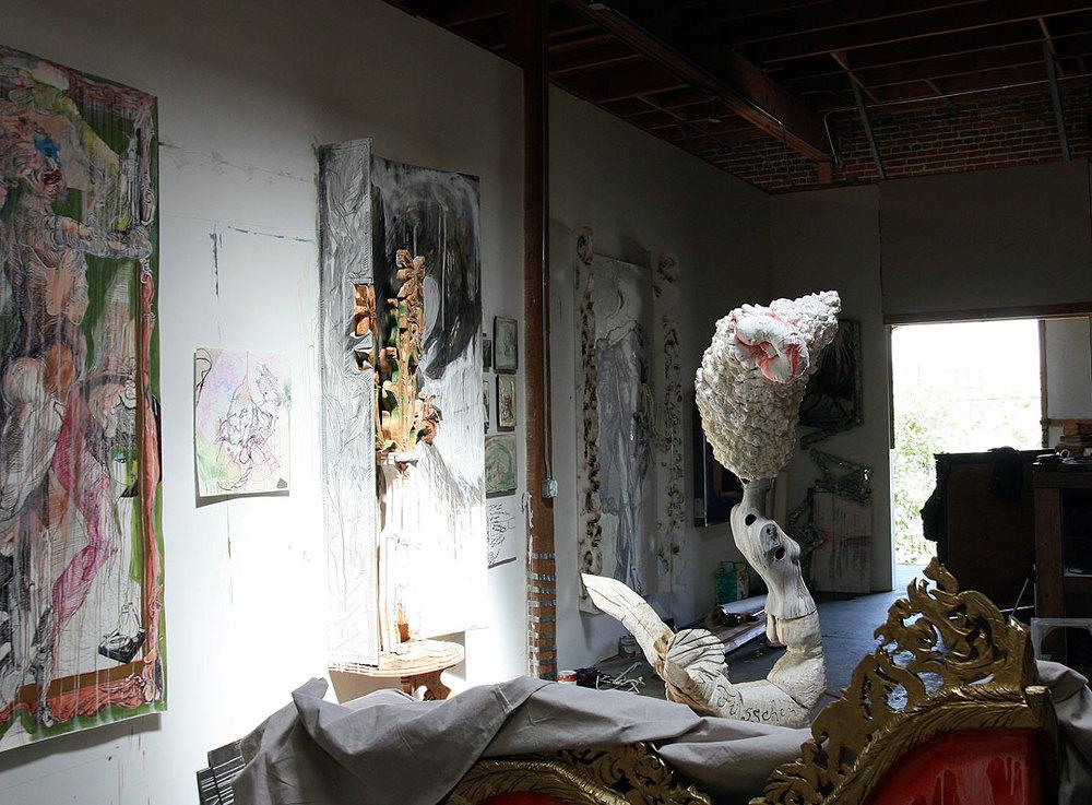 Aaron Sheppard Studio 2013