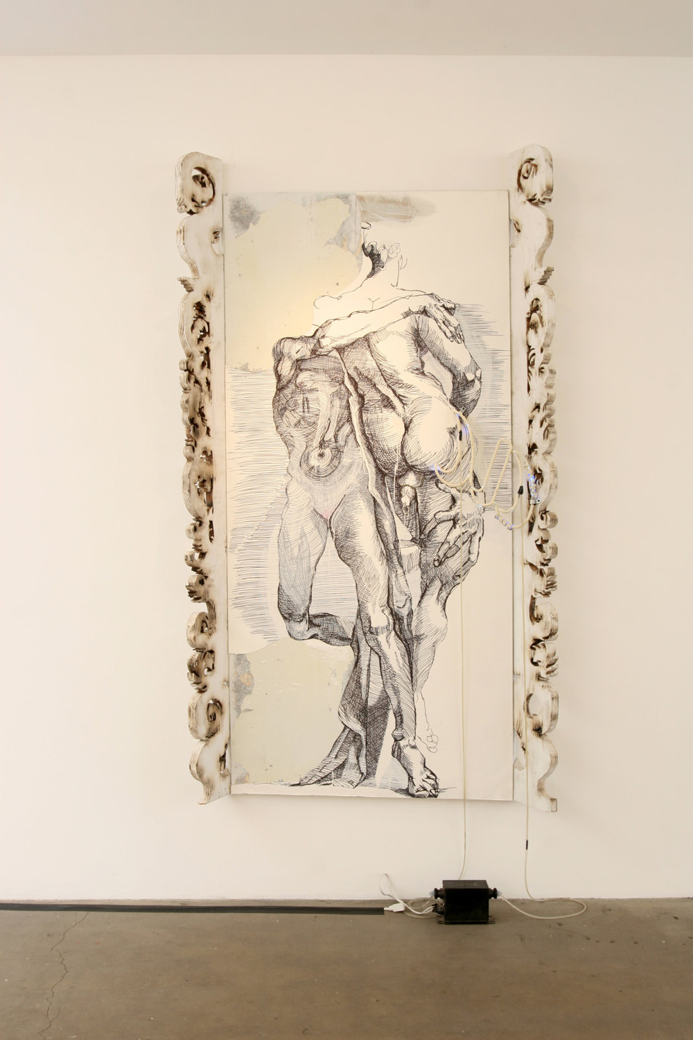 Aaron Sheppard, Salmacian Looking-Glass, 2013 Exhibition at Western Project