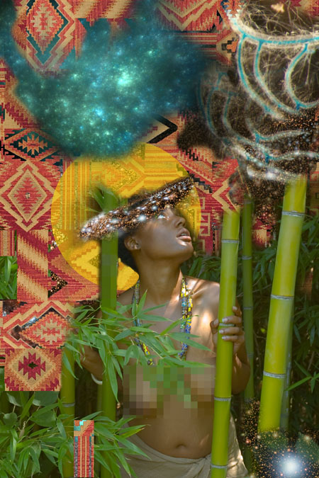 "Jessica Wimbley, ""Rug"", 2012, digital C-print on metallic paper, 24 x 36 inches, edition of 5"