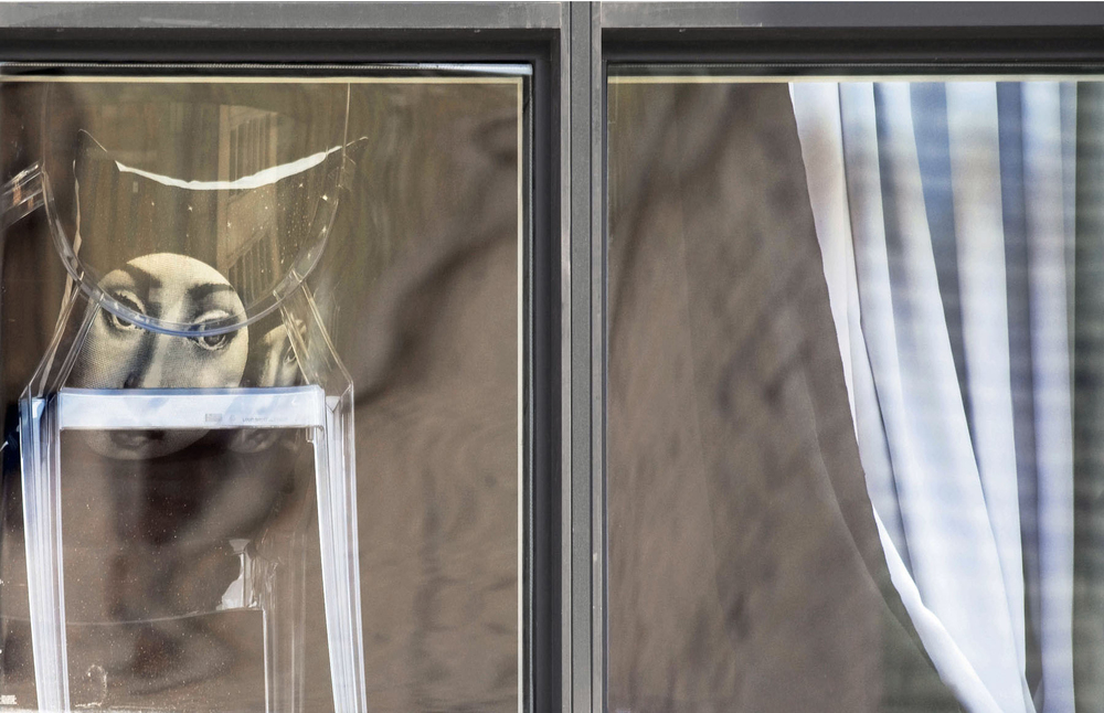 ARNE SVENSON, The Neighbors #55, 2014, pigment print, 30 x 55 inches