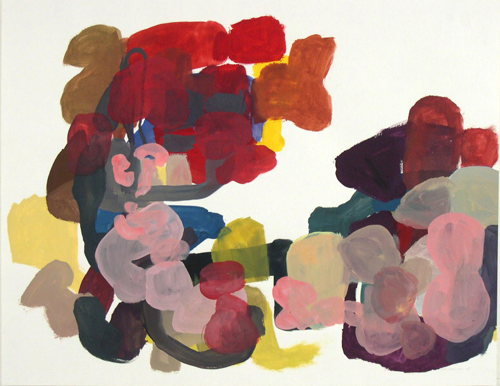 TIM FORCUM, Consensus of Bewilderment, 2005, gouache on paper, 17 x 22 inches