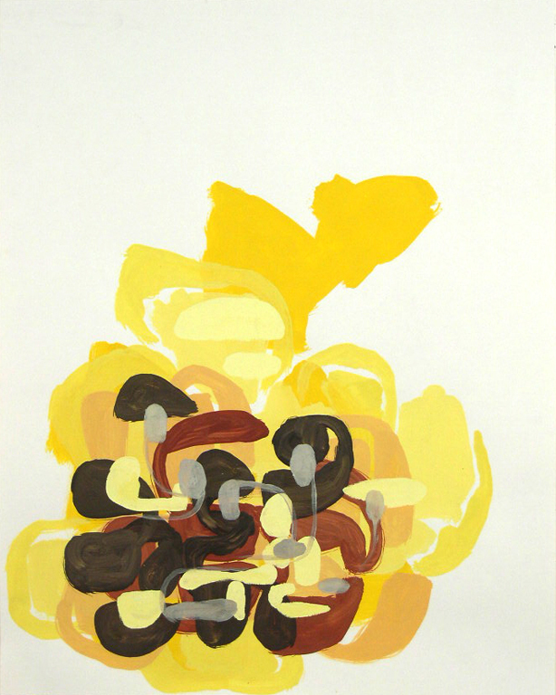 TIM FORCUM, Protected in the Sun, 2005, gouache on paper, 24 x 19 inches