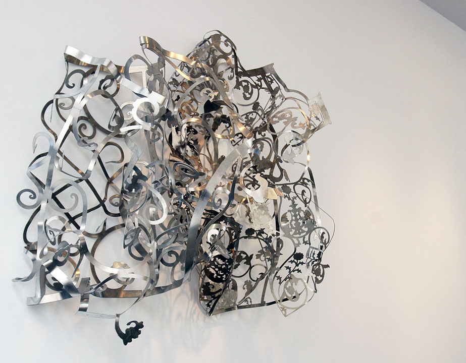 MARGARET GRIFFITH, Roble, 2013 Aluminum, 45 x 47 x 20 inches