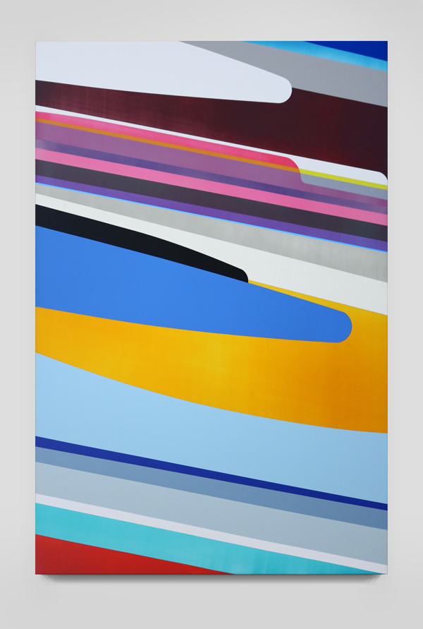 Dion Johnson, Flipside, 2011, 40 x 60 inches