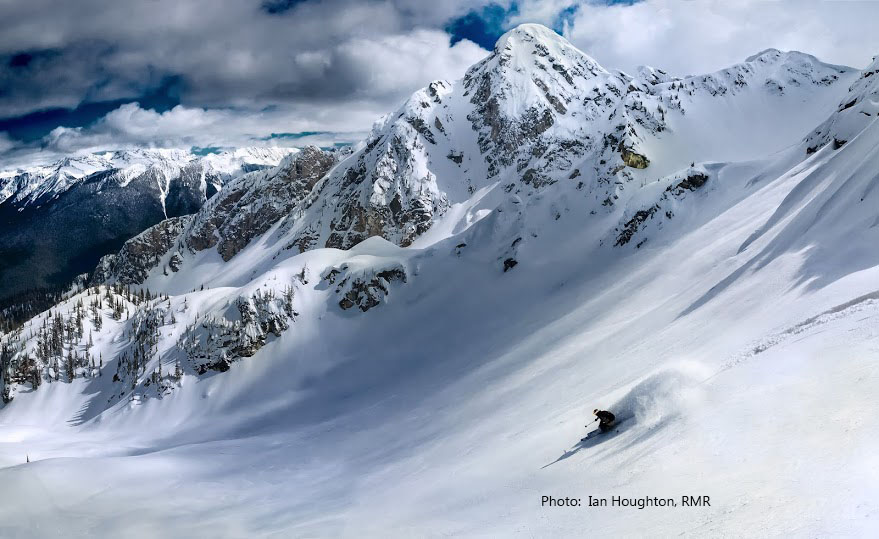 Powder HIghway ski tour in Revelstoke, British Columbia.