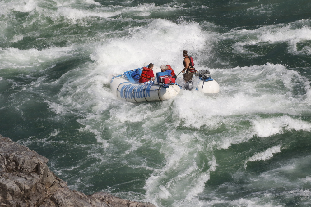Rafting adventures in BC on the Fraser River.