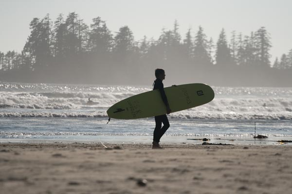 Vancouver Island surfing adventure.  Photo: Steve Hannock.