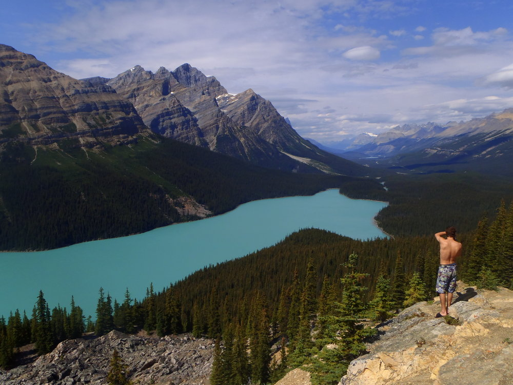 Hiking adventure in Jasper National Park