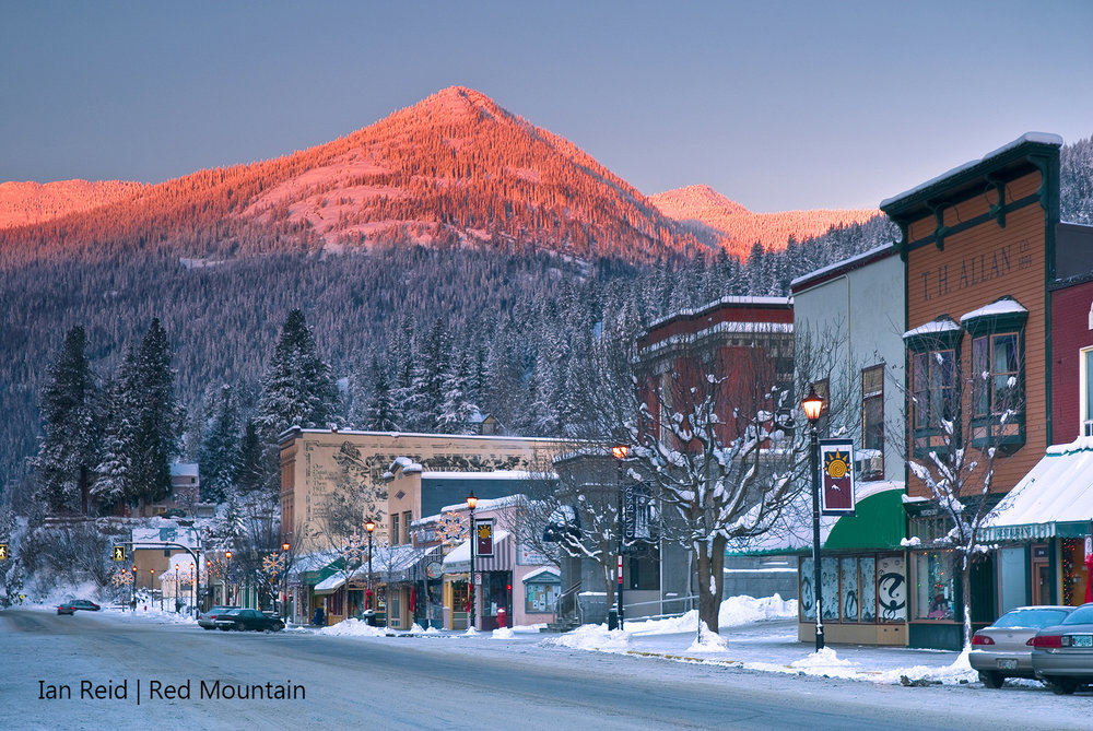 Downtown Rossland, Red Mountain, Iain Reid.jpg