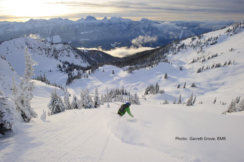 Guided ski adventures in British Columbia.