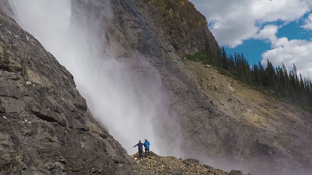 Guided adventure in Yoho National Park.