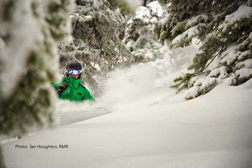 Guided ski trip on the Powder Highway