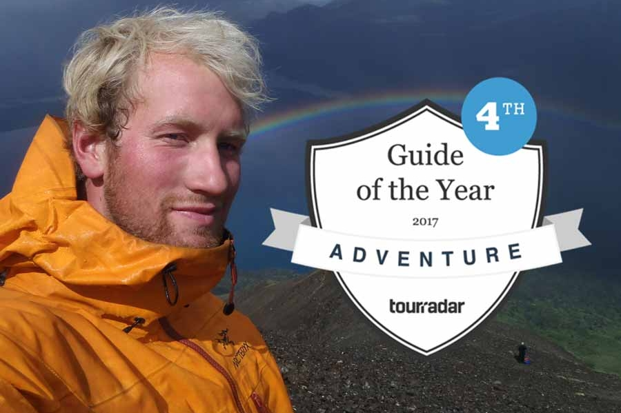 Award winning guides on guided camping tours with Fresh Adventures.