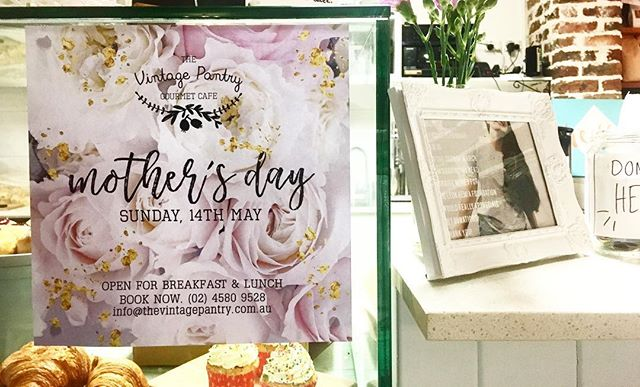 B O O K  I T  I N ✨ #mothers #day #at #the #pantry #2k17 #edition #make #it #happen #get #keen #spoil #the #mumsy