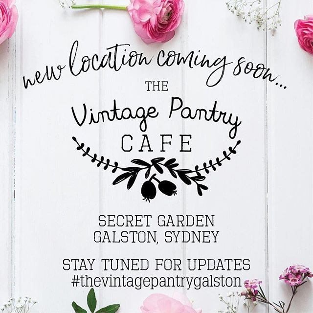 TAKE A SNEAK PEAK 👀 AT OUR NEW ADVENTURE❗️WE ARE NOW EXPANDING 🤗 VINTAGE PANTRY IS OPENING OUR SECOND CAFE IN GALSTON!!! WE ARE SO EXCITED! STAY TUNED FOR UPDATES ✨ #watchthisspace #thevintagepantrynearyou#tellyourfriends #pitttown #galston #dural #glenorie #blessed #thrilled #excited #pitttown