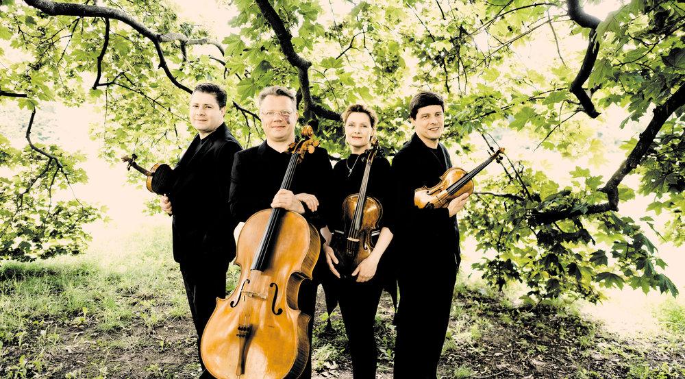 - Den tyske verdensberømte Henschel Kvartet spiller i Nordfalsters Koncerthus.