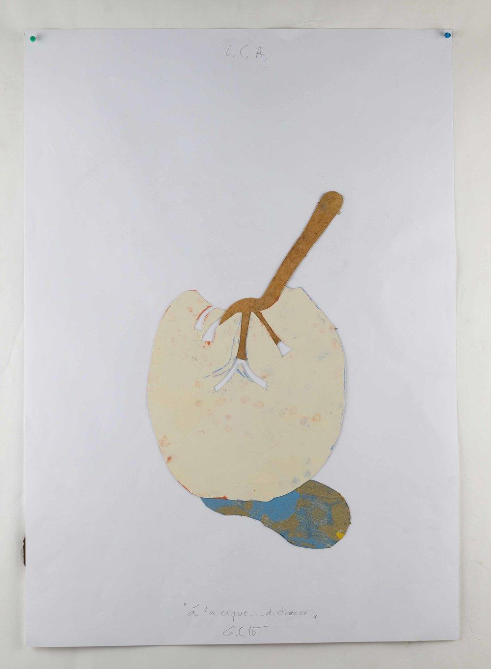 A la coque... di struzzo