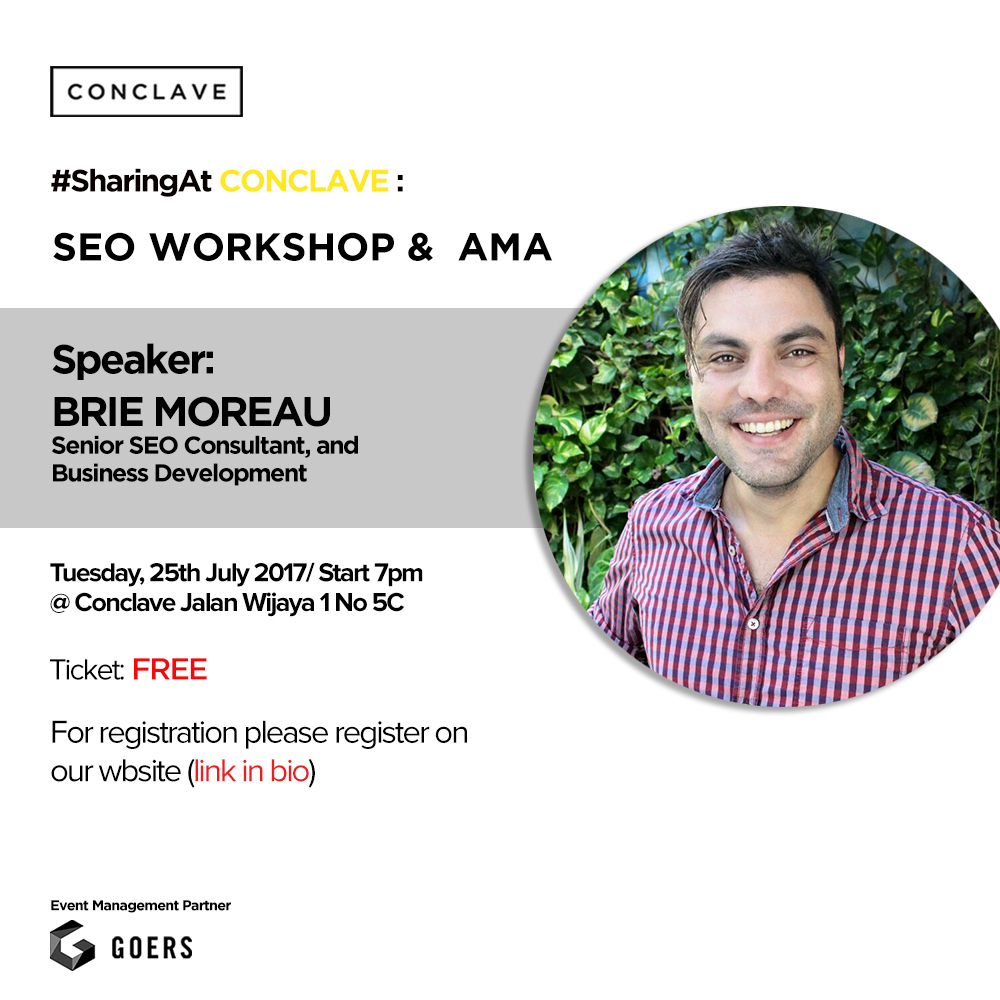 #SharingAtConclave: SEO Workshop & AMA