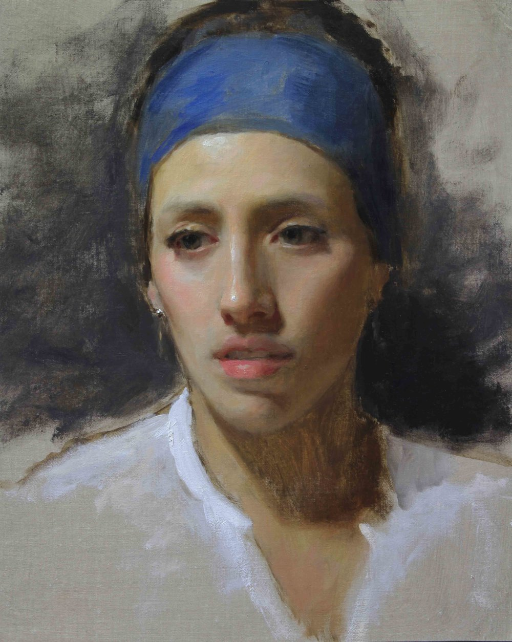 SOLD OUT - Email for waitlist - May 26-28 2018 (Memorial Day Weekend) - Raleigh, NC - 3-Day Portrait Painting Workshop