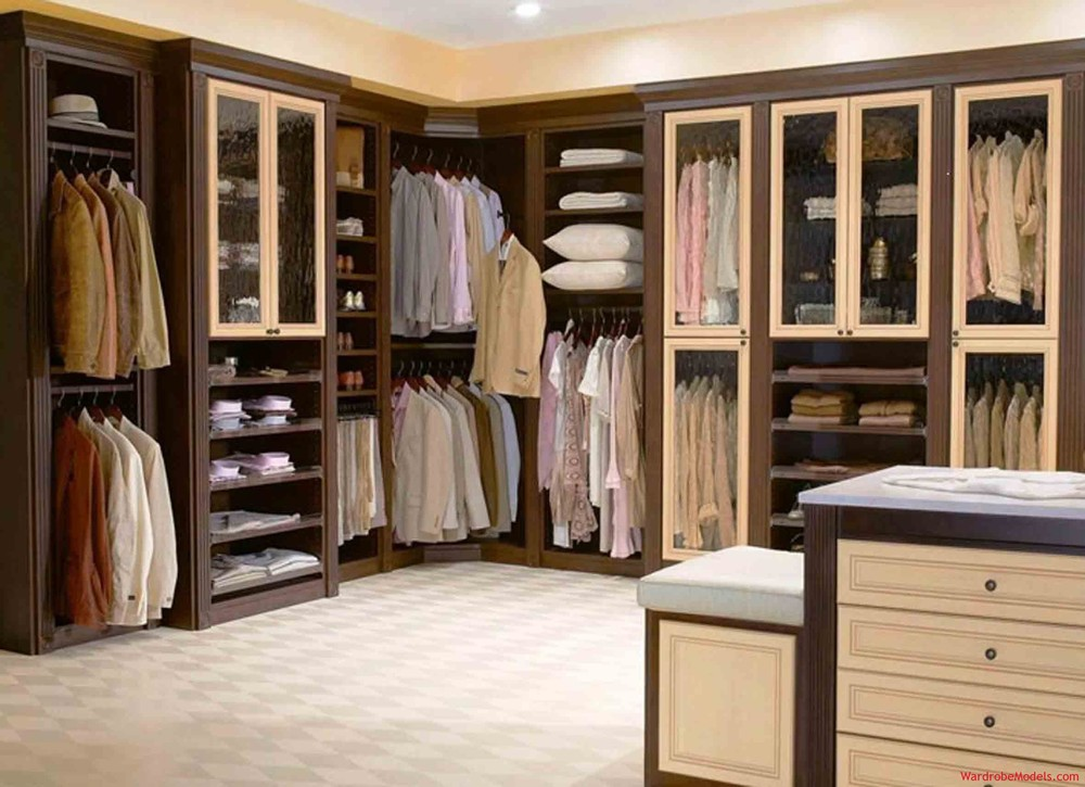 Closeted Walk in bedroom closets