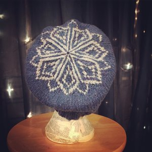 Resilience Hat made with Custom Woolen Mills Yarn