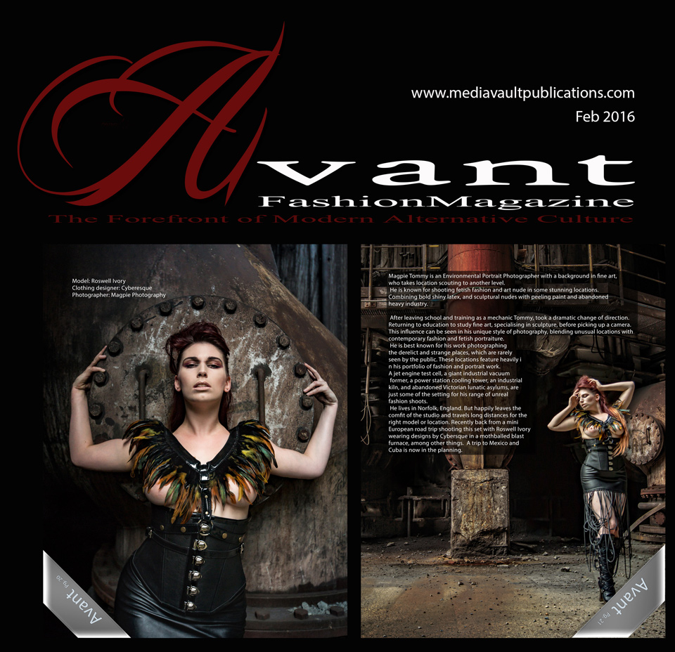 Avant Fashion Magazine Vol.4-No.1