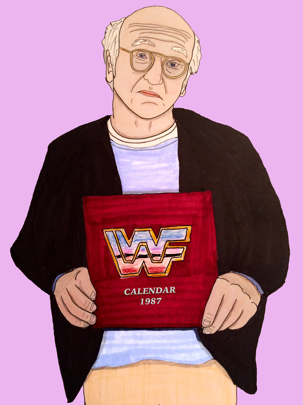 Larry David`s favorite thing in the world.