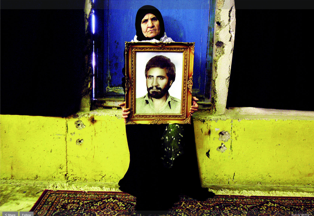 Newsha Tavakolian, Mothers of Martyrs, 2012