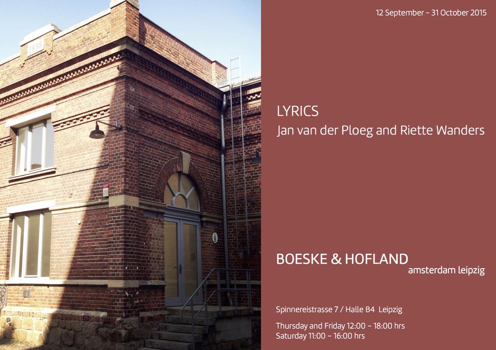 BOESKE & HOFLAND amsterdam leipzig
