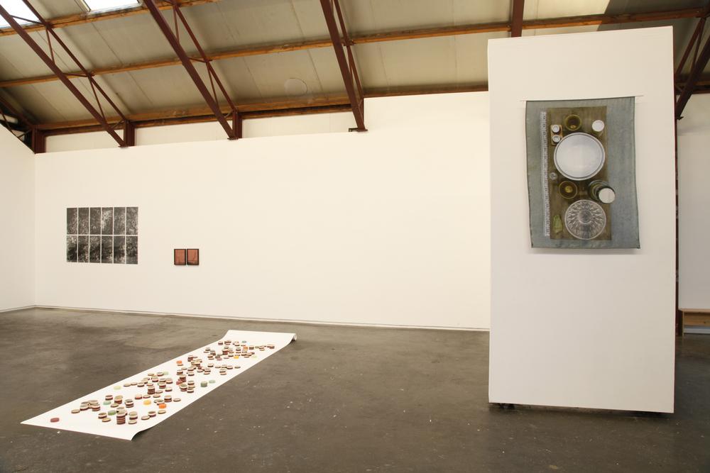 Valerie van Leersum, Like a Shower of Slanting Rain,2015, installation view