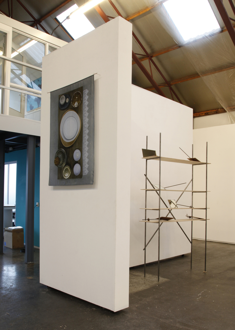 Valerie van Leersum, Spaces of Otherness and In Seek of Liminality,2015, installation view
