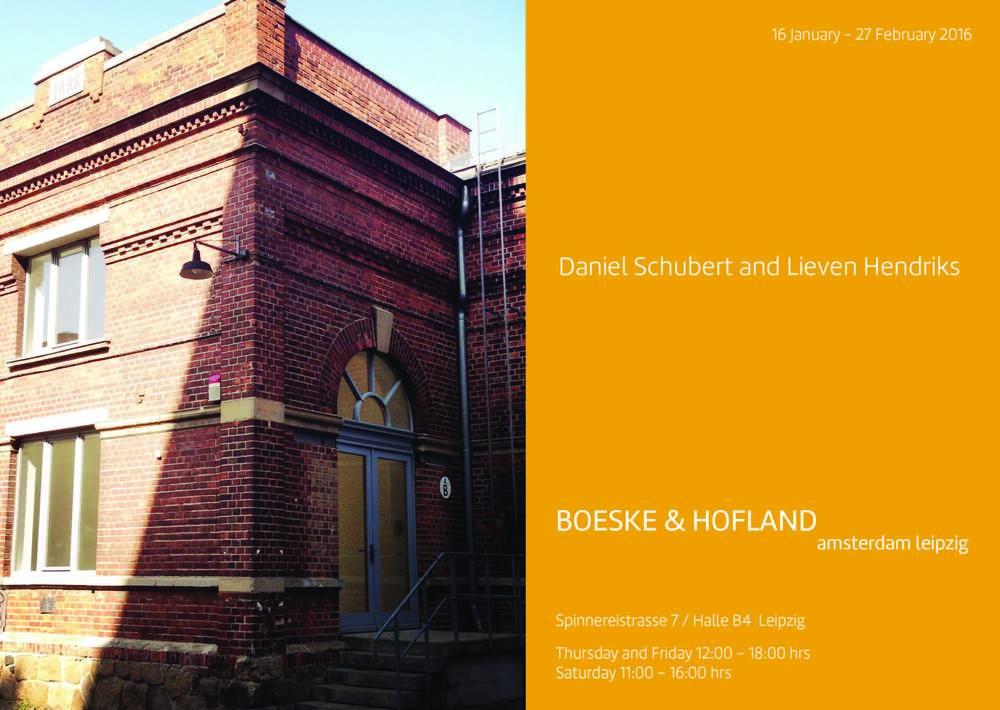 Daniel Schubert and Lieven Hendricks_ Boeske & Hofland