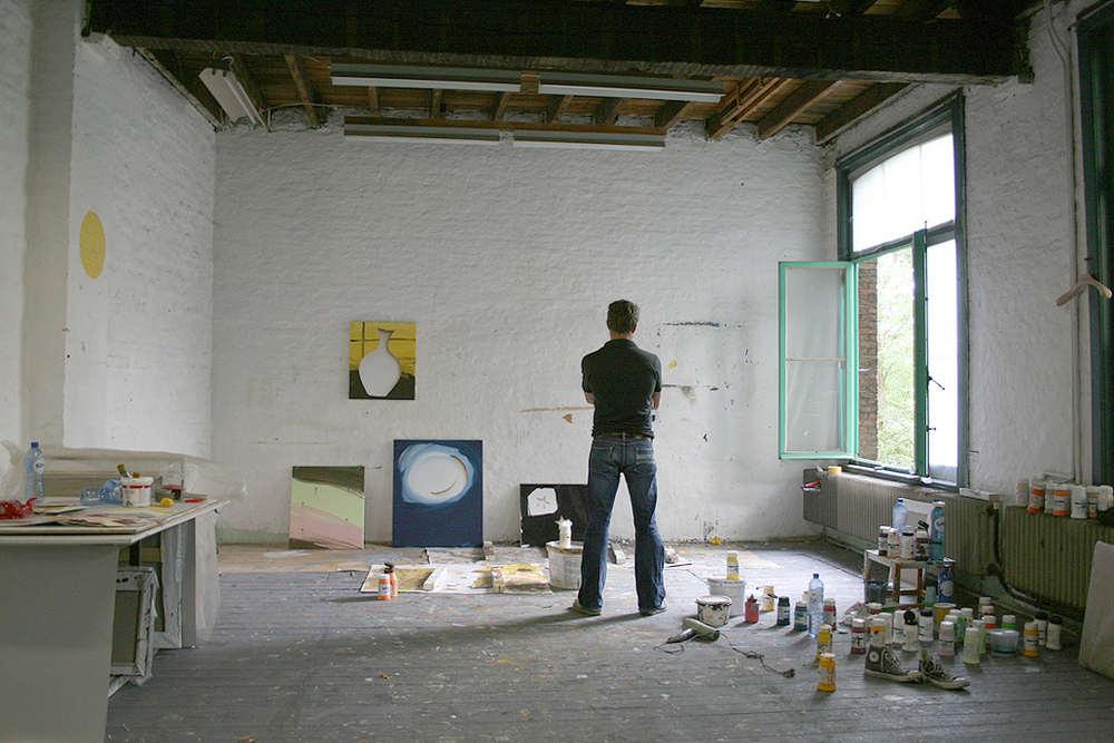 Studio view | 2014  Courtesy 'The Artist In The World'