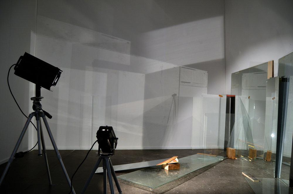 Roos van Haaften, installation