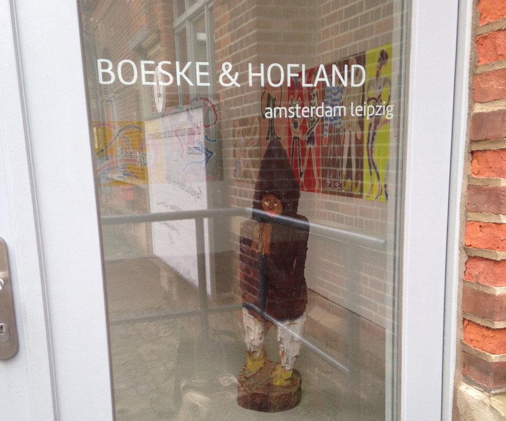 Joost Krijnen and Charlie Roberts@ BOESKE & HOFLAND amsterdam leipzig | 2015