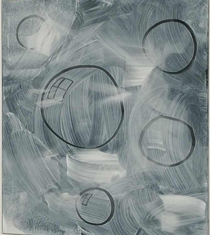 Untitled, 2015 acrylic on linen 140 x 115 cm