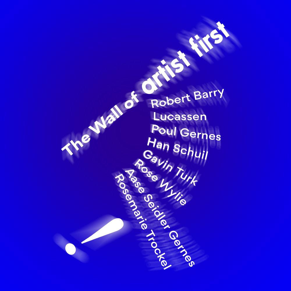 Robert Barry, Lucassen, Poul Gernes, Han Schuil, Gavin Turk, Rose Wylie,Aase Seidler Gernes, Rosemarie Trockel