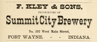 Summit City Brewery F. Kley & Son