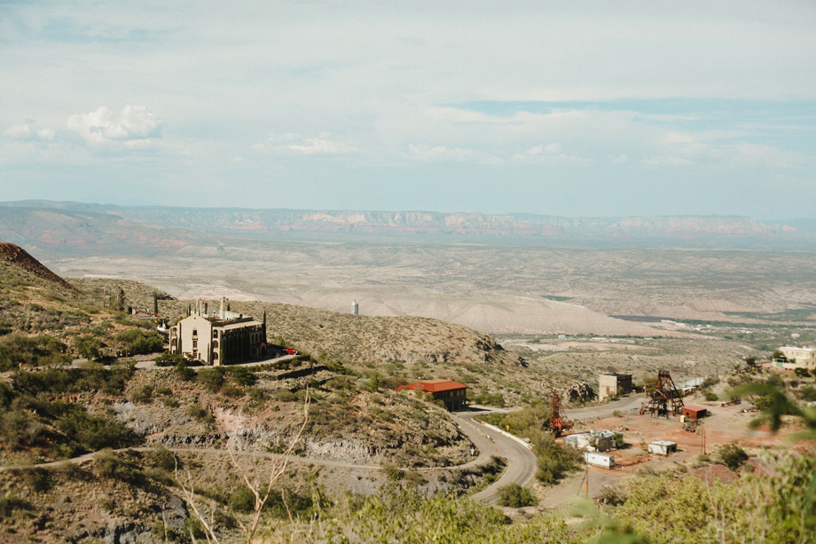 Tyler + Alex's engagement session in Jerome, AZ by Session Nine Photographers