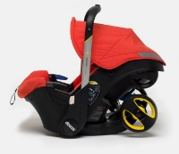 Car seat with built in stroller!!! Where was this when my kiddo was a baby? Oh man...