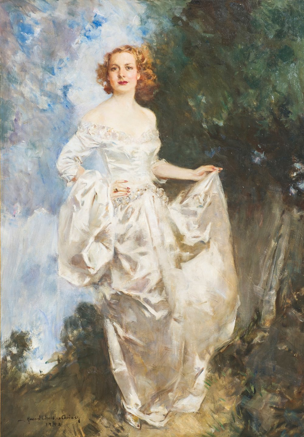 Howard Chandler Christy, Portrait of Dorothy Barton (Thomas).jpg