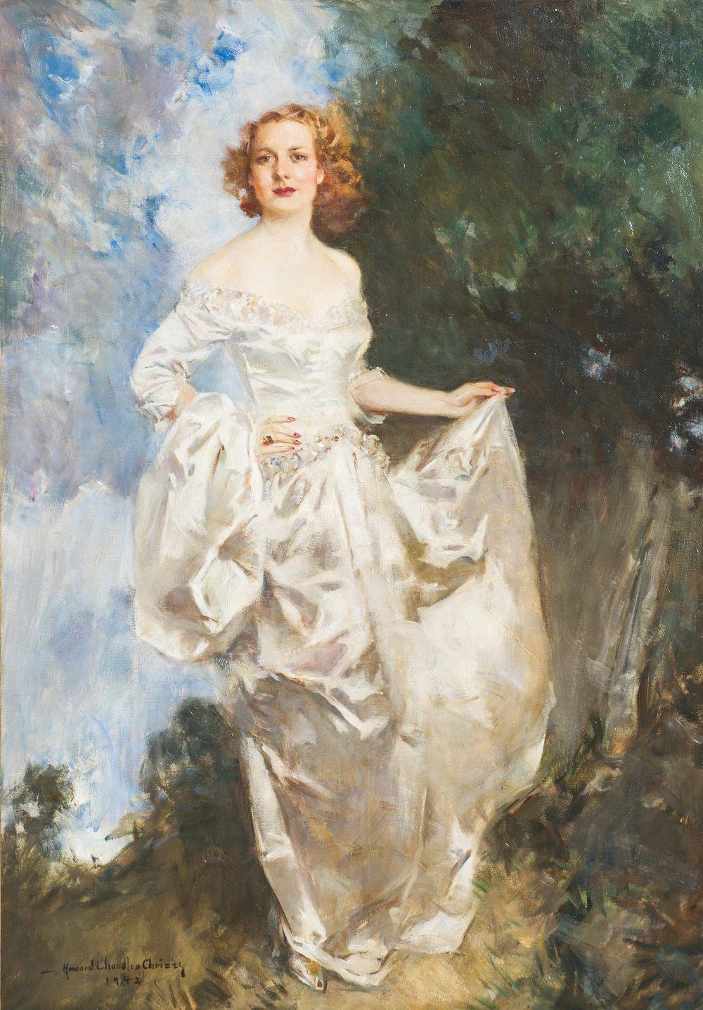 Howard Chandler Christy, Portrait of Dorothy Barton (Thomas).jpg