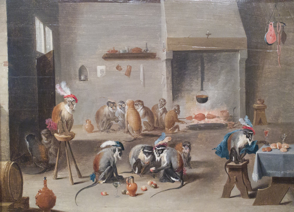 David Teniers, Monkeys At Play.jpg