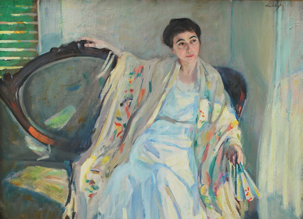 Charles Alden Gray, Portrait of Mrs. McCoy.JPG